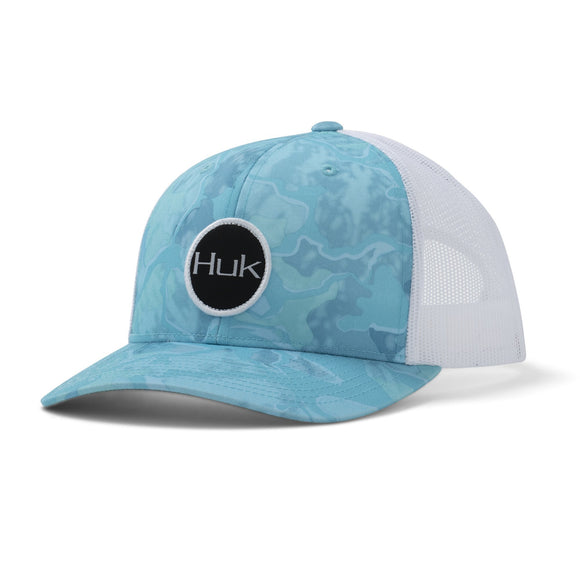 HUK CURRENT CAMO MESH TRUCKER