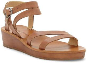 LUCKY BRAND HECILIA LEATHER WEDGE