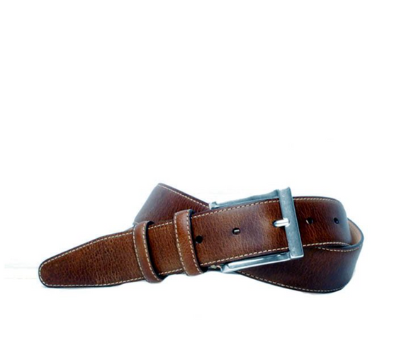MARTIN DINGMAN BILL WATER BUFFALO LEATHER BELT