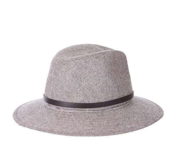LADIES BARBOUR DENE FEDORA - LT. TAN