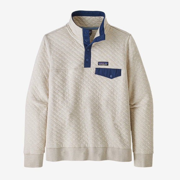 PATAGONIA LADIES ORGANIC COTTON QUILT SNAP-T PULLOVER