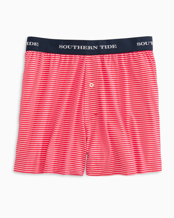 MENS SOUTHERN TIDE STRIPED PERFORMANCE BOXER