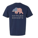 ONWARD RESERVE USA BEAR T-SHIRT