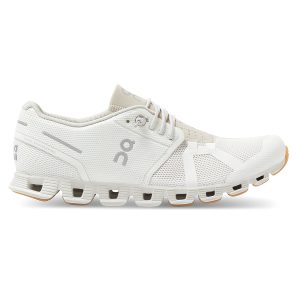 LADIES ON CLOUD SHOES WHITE SAND