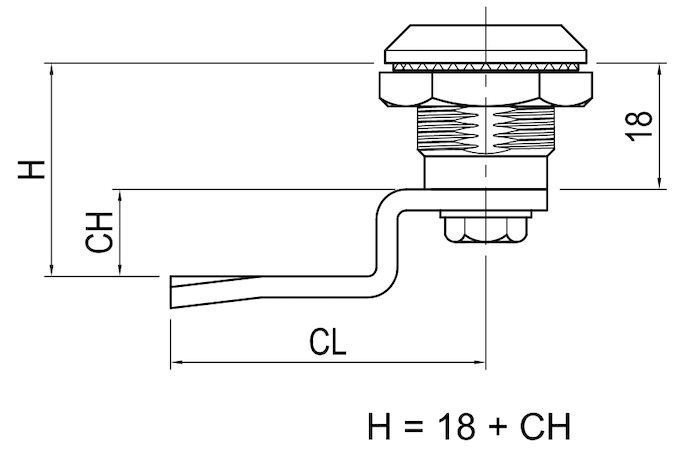 Example of Positive cam height