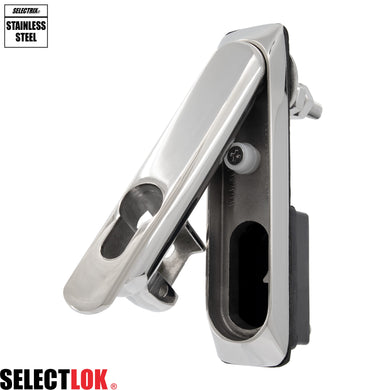 Millennium Series Euro Profile Cylinder Swing Handle - Selectlok