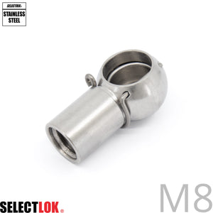 Gas Strut Connector Stainless Steel C9S20M8 (⌀10mm) - Selectlok