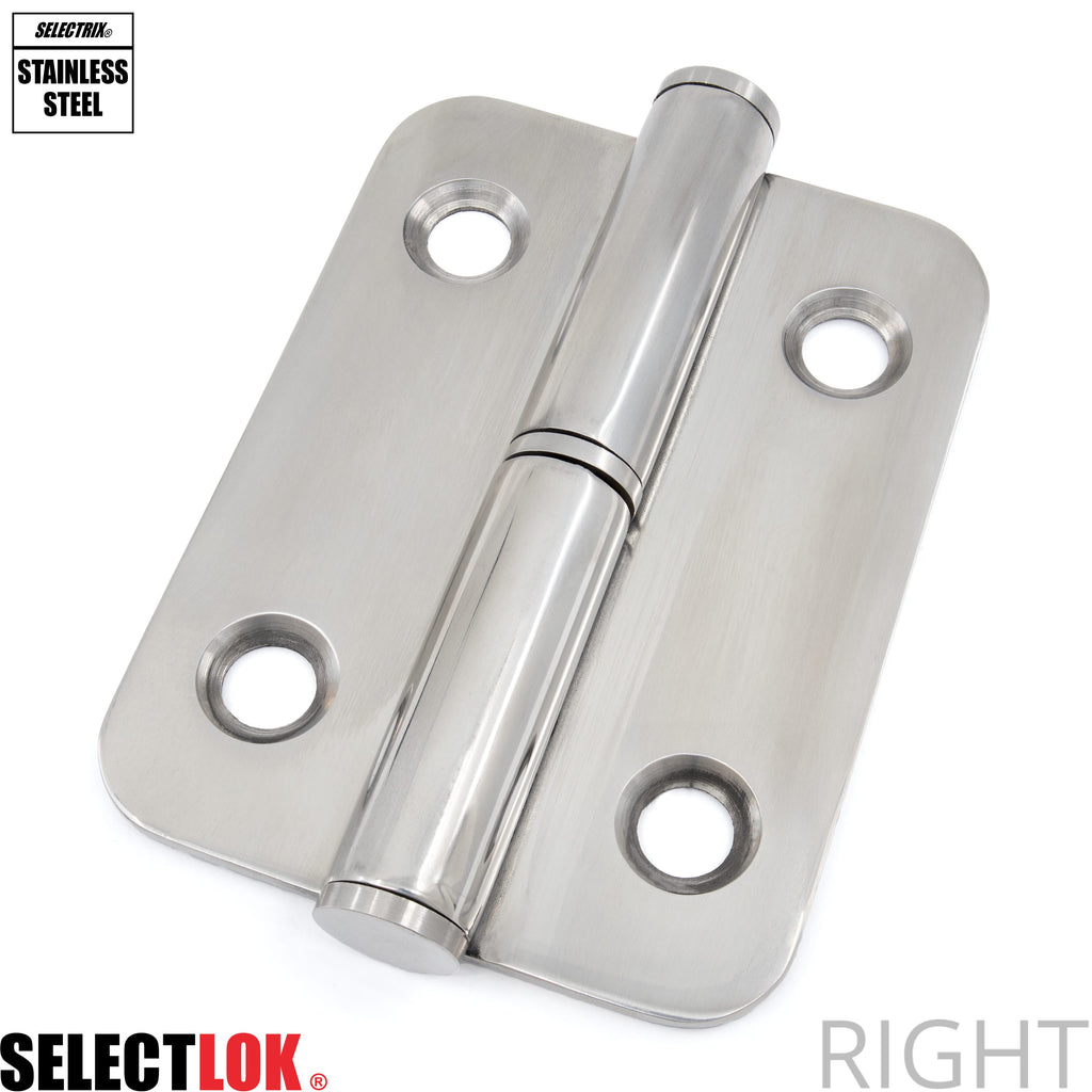100mm Lift Off Hinge Stainless Steel - Selectlok