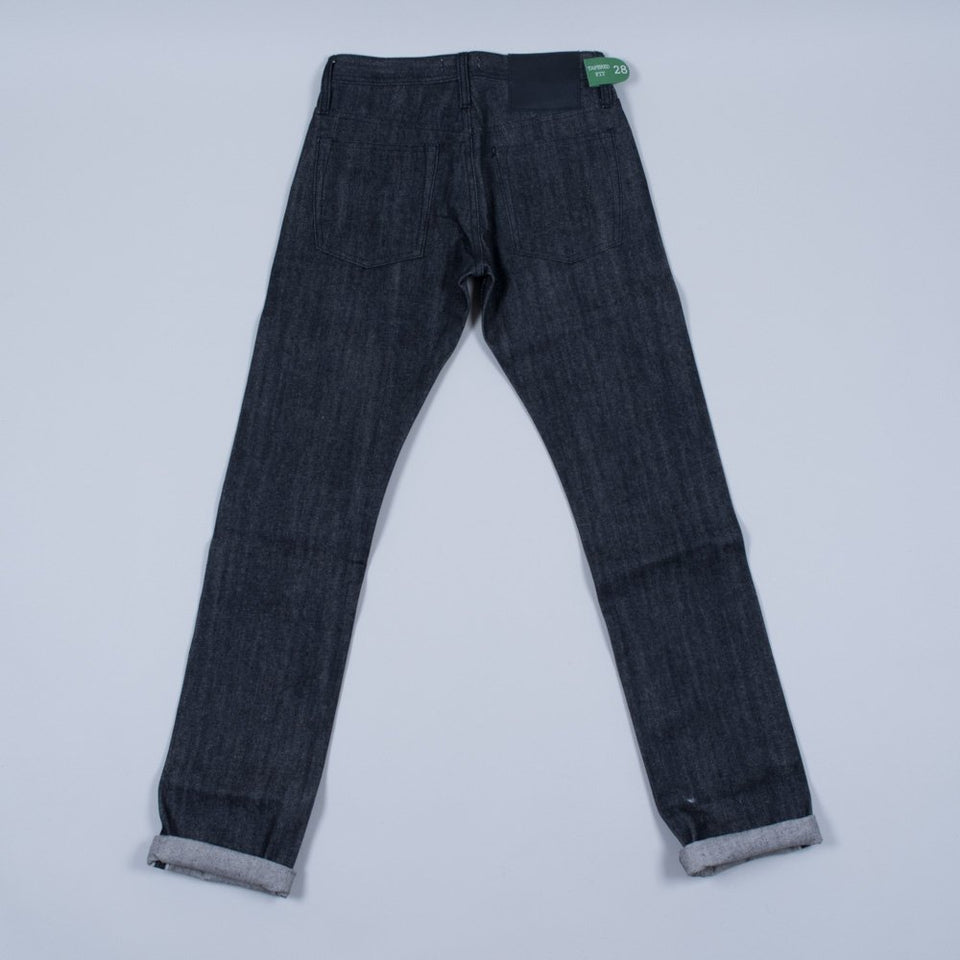 Unbranded UB204 Tapered Black 14.5oz Selvedge