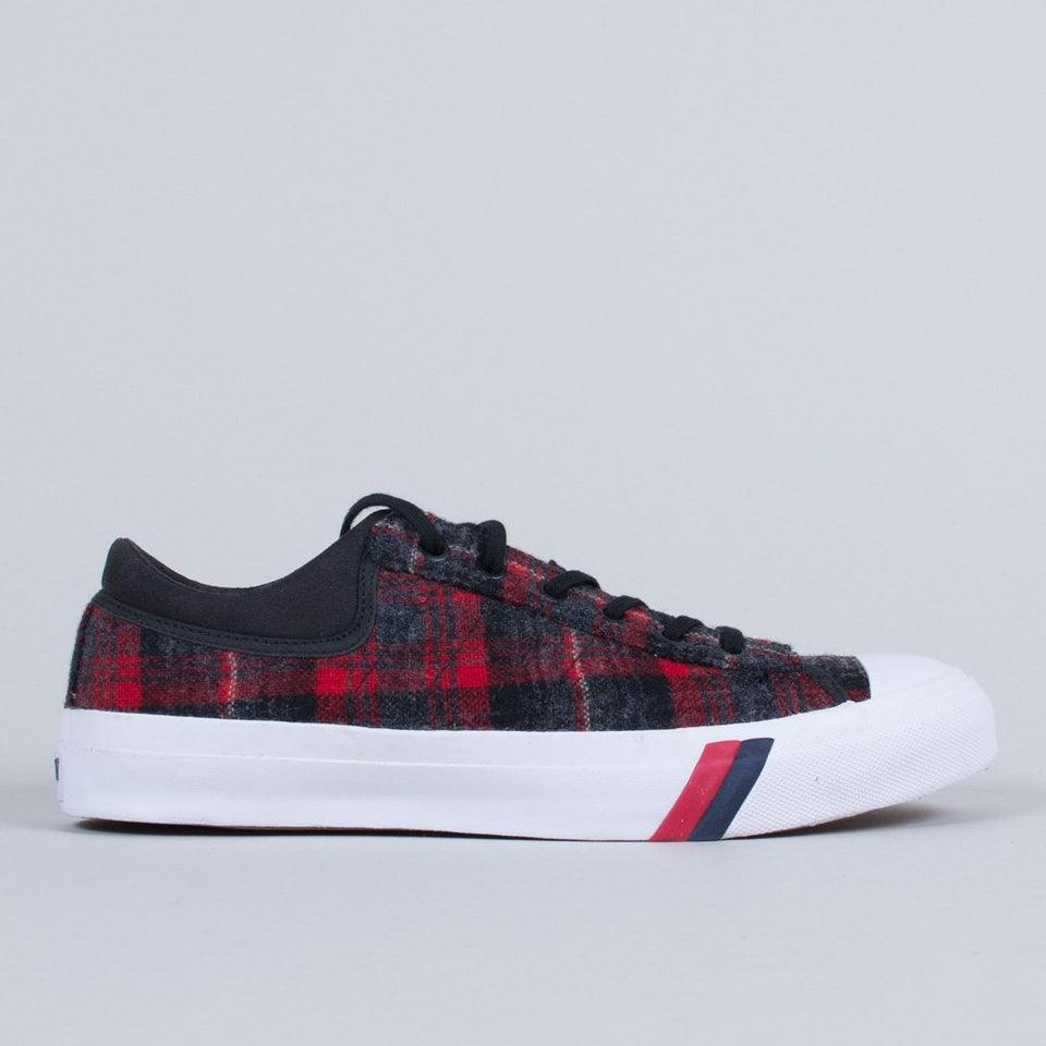 Pro-Keds x Woolrich Royal Master DK Red