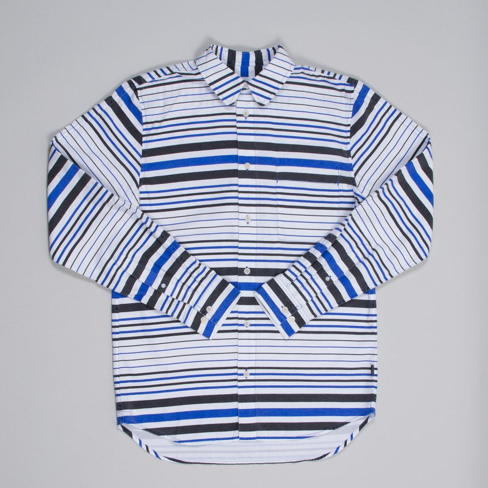 Wood Wood Richie Shirt Blue Stripe