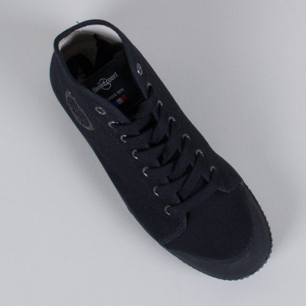 Spring Court Canvas B2 Black (High)