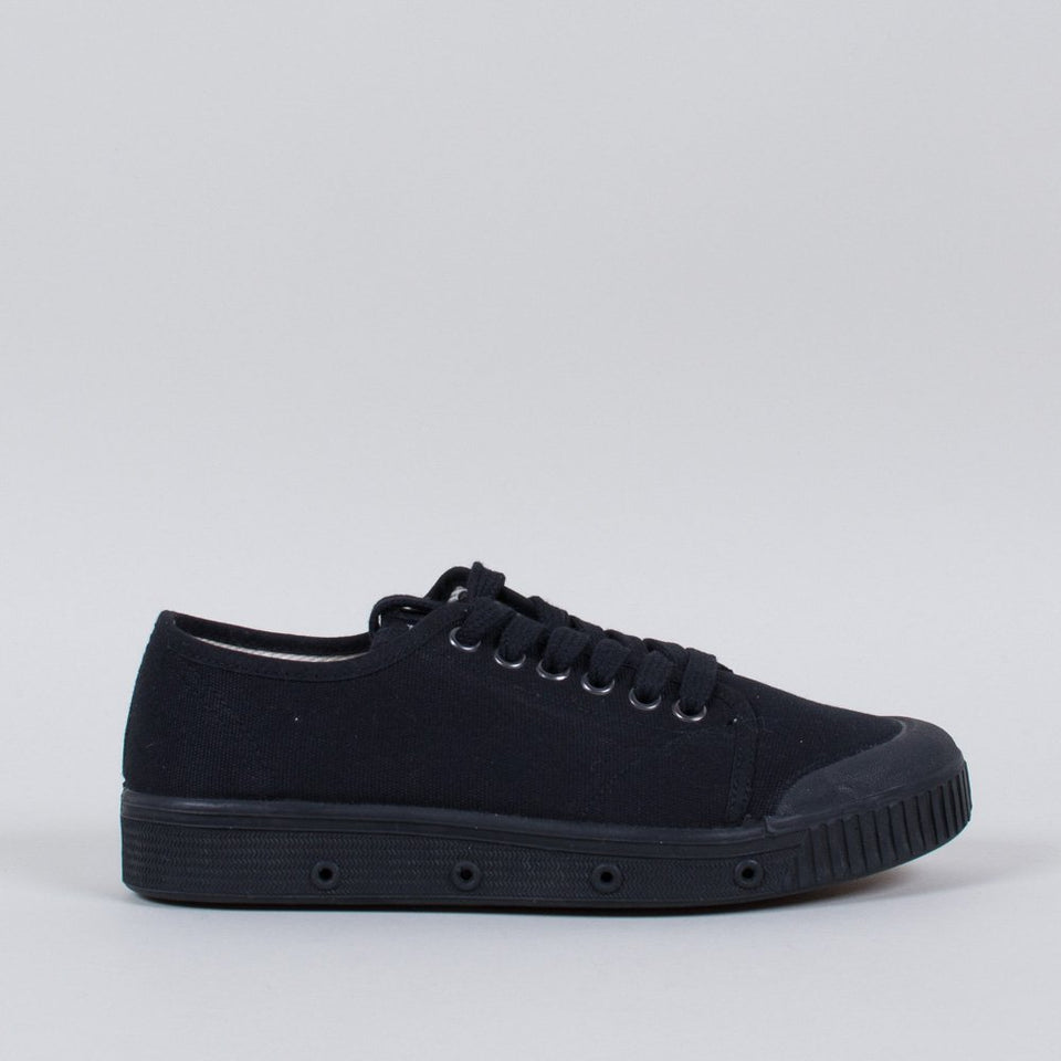 Spring Court Canvas G2 Black (Low)