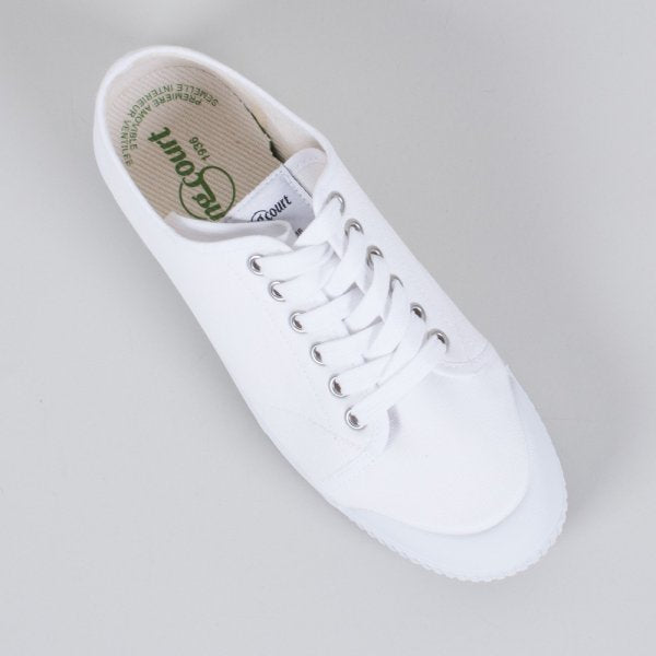 Spring Court Canvas G2 White (Low)