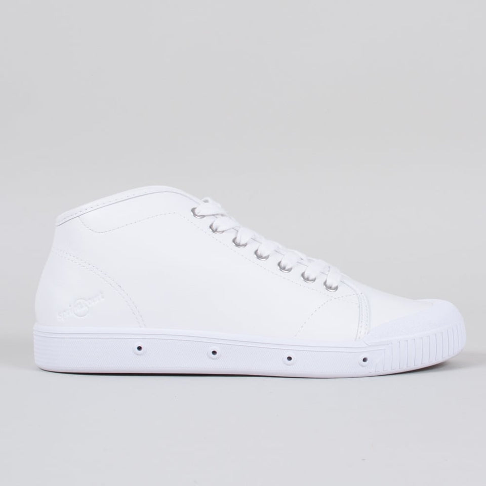 Spring Court Leather B2 White (High)