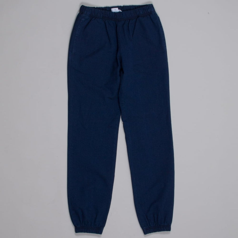 Sunspel Ladies Tapered Indigo Trouser