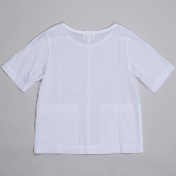 Folk Ladies Pouch Pocket Top White