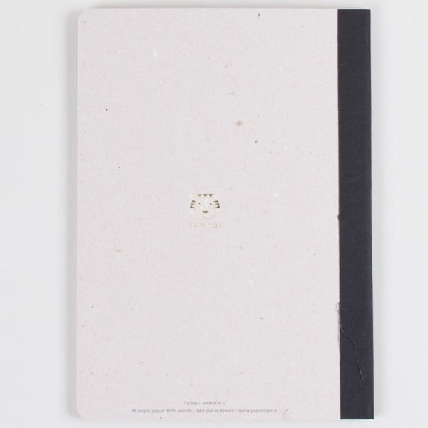 Papier Tigre Carnet Note book The Bamboo