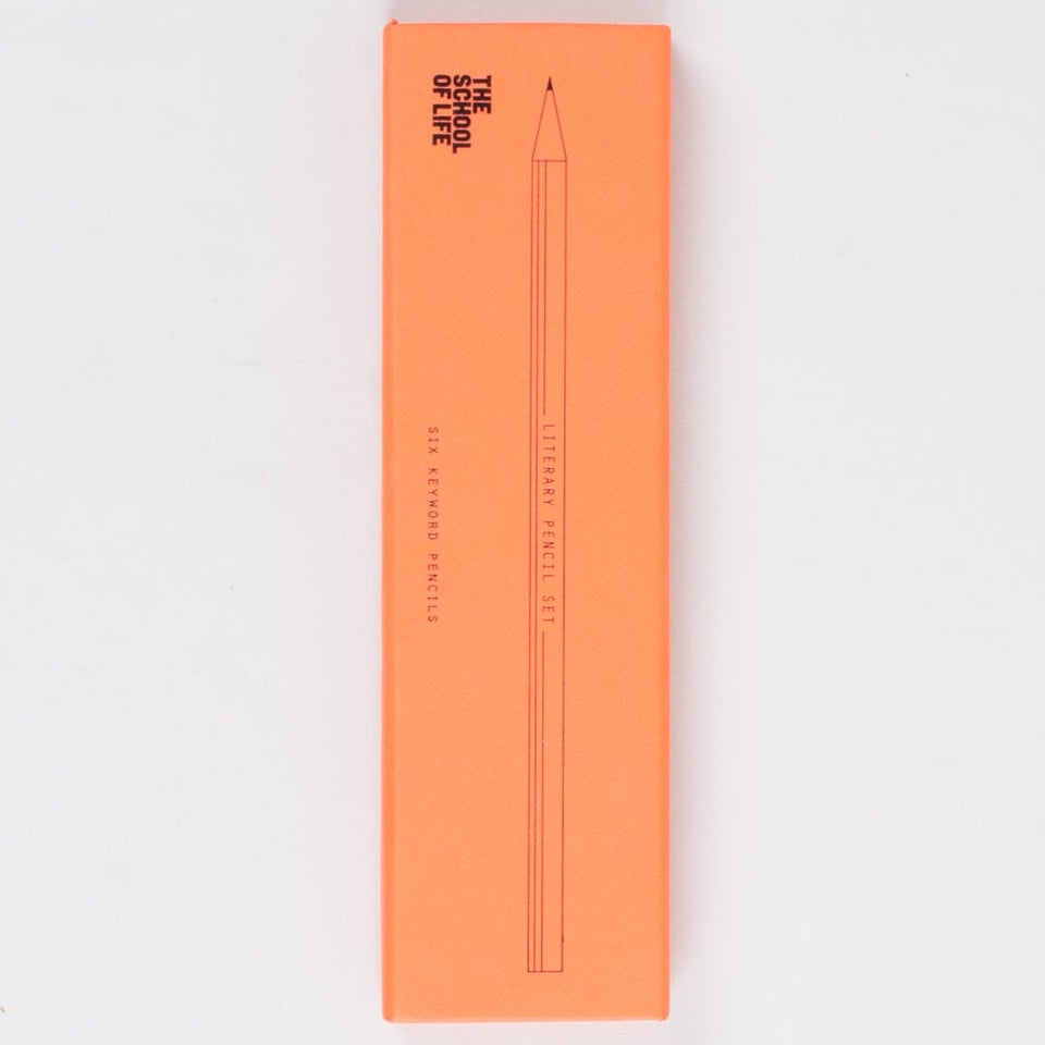 The School Of Life: Literary Pencil Set