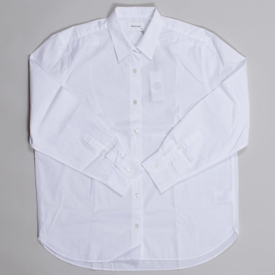 Wood Wood Ladies Dana Shirt White