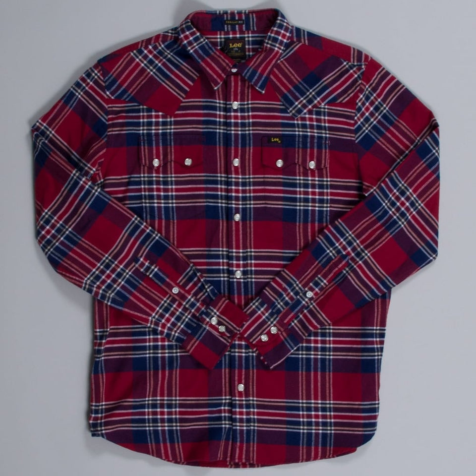 Lee 101 Rider Shirt Red