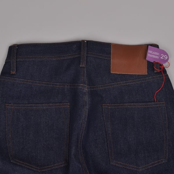 Unbranded Relaxed Tapered Indigo Selvedge 14.5oz