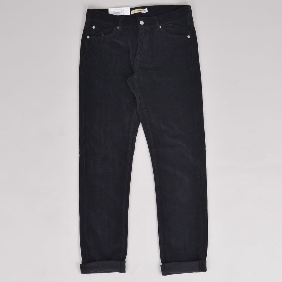 The Cords and Co Per Trouser Black