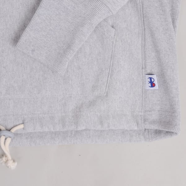 Champion x Beams Hooded Sweatshirt - Grey