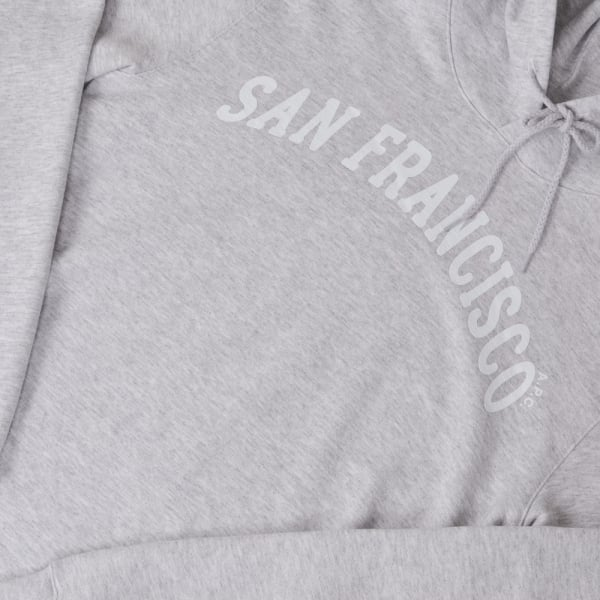 A.P.C. San Francisco Hoodie - Heathered Grey
