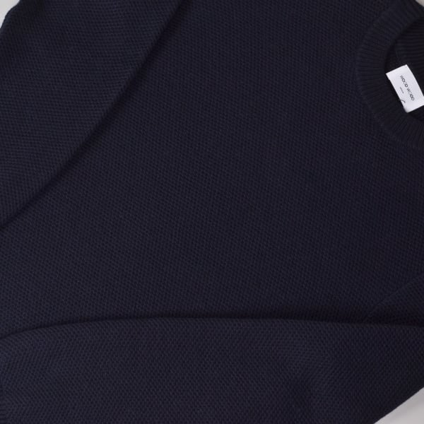 Wood Wood Lanzo Sweater - Navy