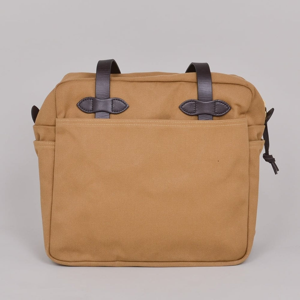 Filson Zipper Tote Bag - Tan