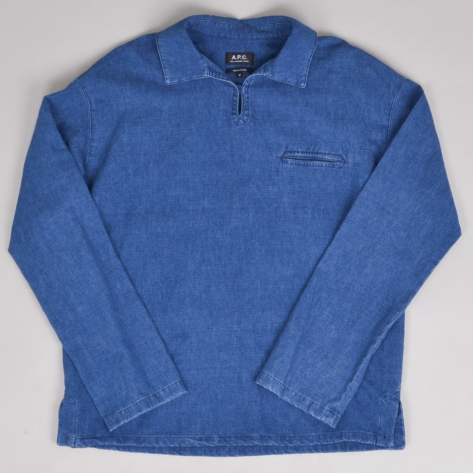 A.P.C. Rodger Nautical Jacket - Blue