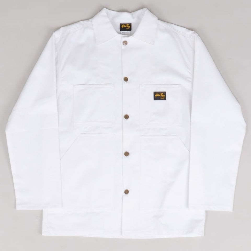 Stan Ray Shop Jacket - White