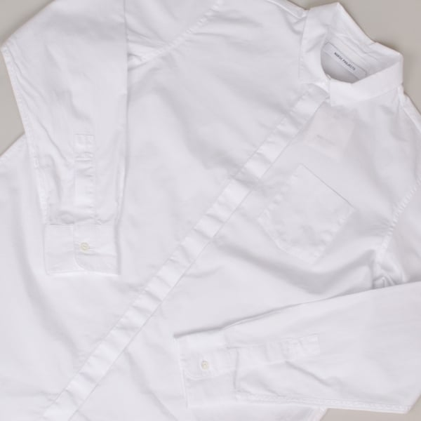 Norse Projects Ladies Maud Cotton Poplin White