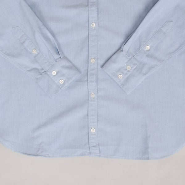 Norse Projects Ladies Elva Oxford Pale Blue Melange