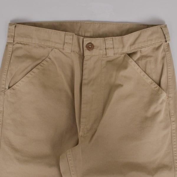 MHL Worker Trouser Light Cotton Drill Khaki