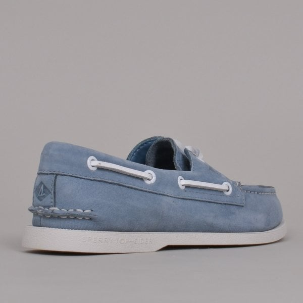 A/O Washed Blue Suede Shoe