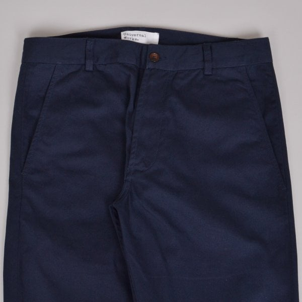 Universal Works Aston Pant Twill - Navy