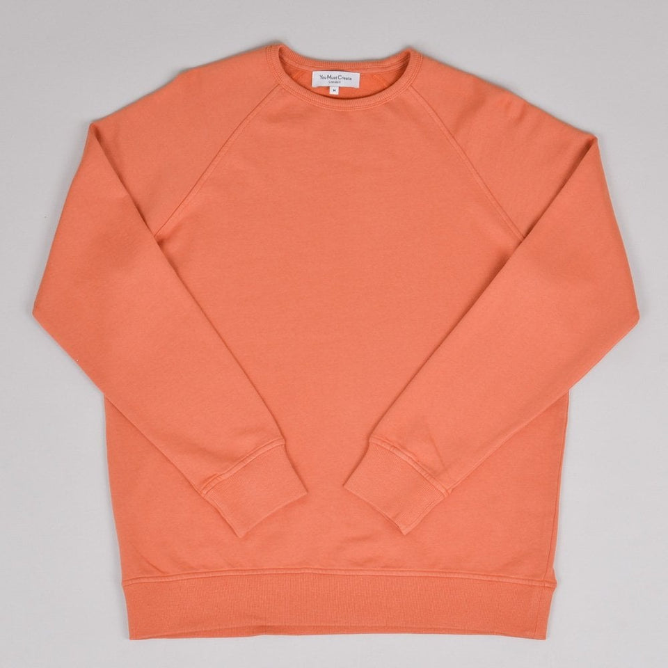 YMC Schrank Raglan Sweat - Rust