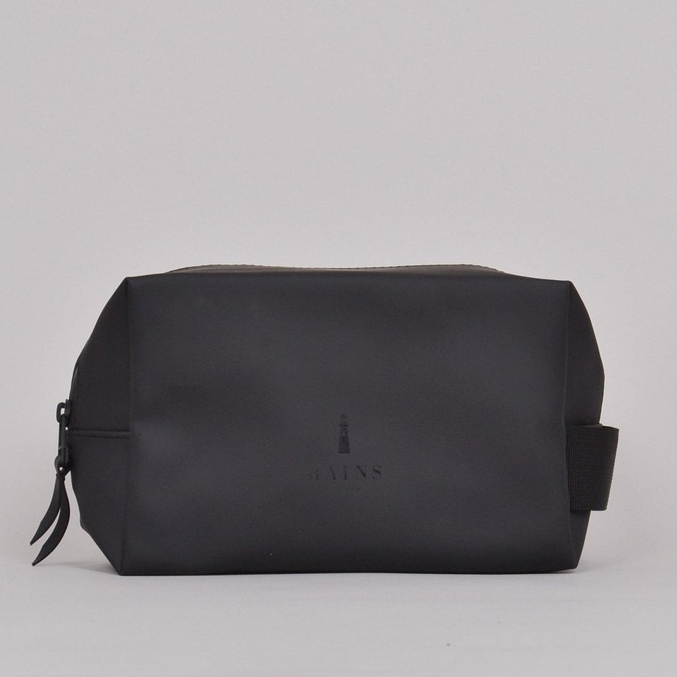 Rains Wash Bag Small - Black