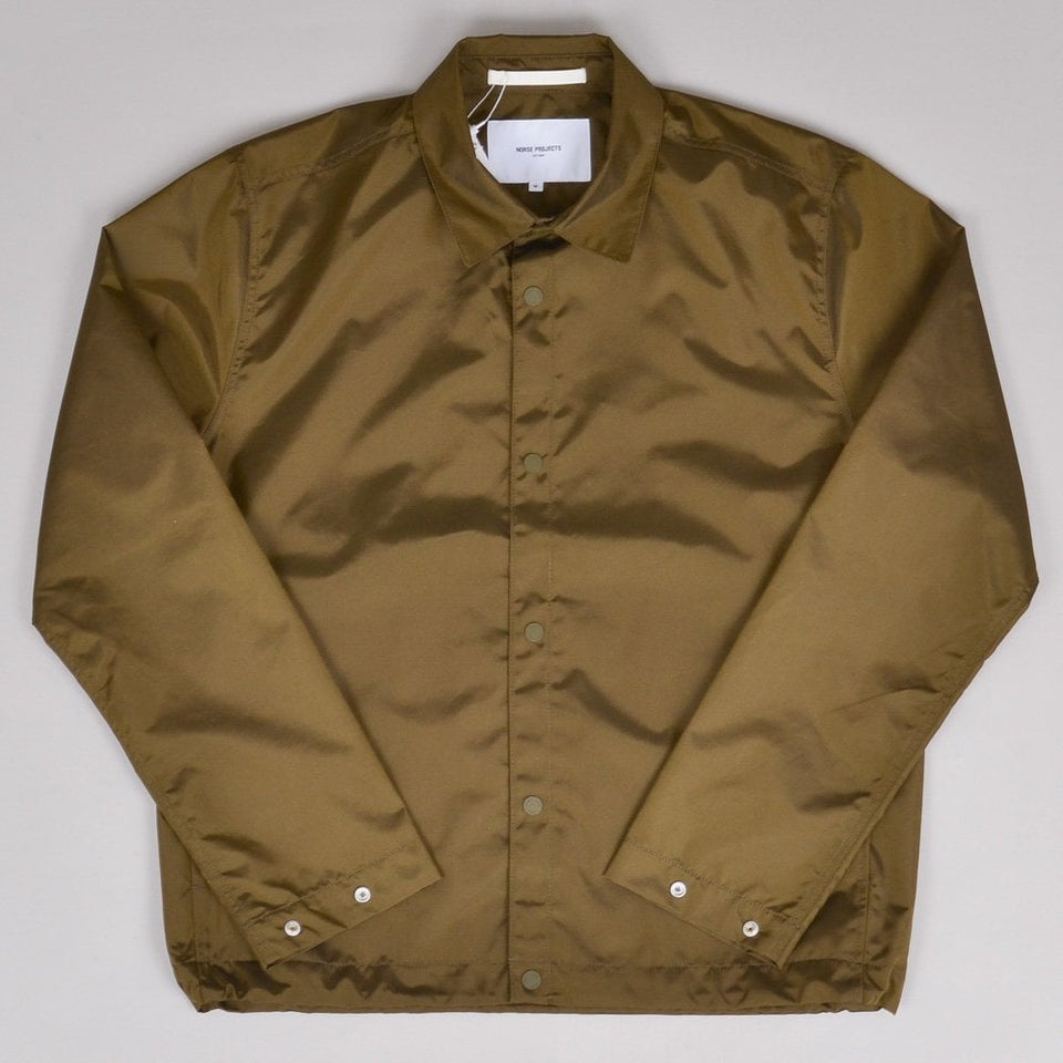 Norse Projects Svend Nylon Oxford - Sitka Green