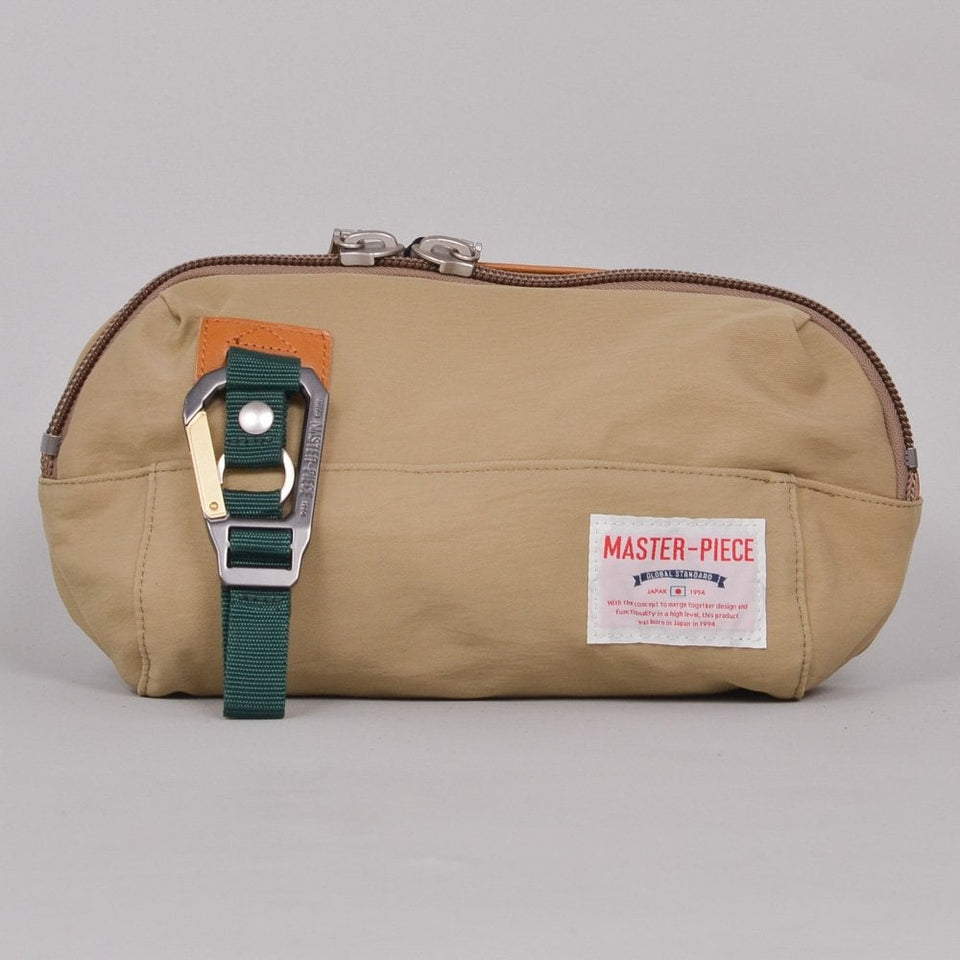 Master-Piece Link Series Waist Bag - Beige