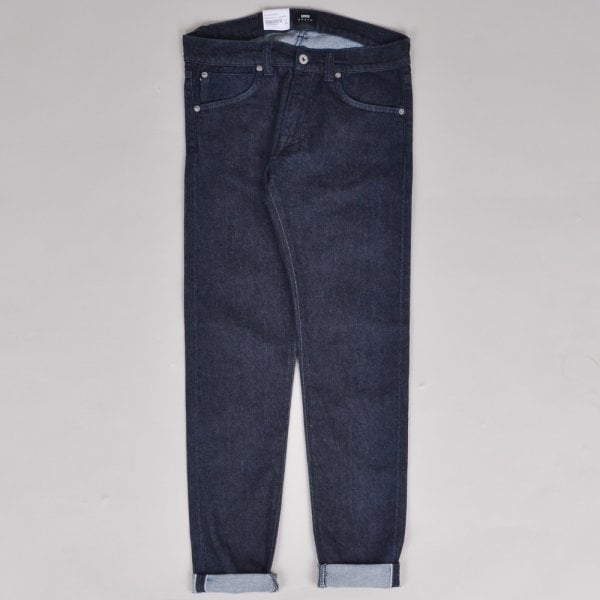 Edwin ED-85 CS Red Listed Blue Denim - Blue Rinsed