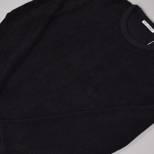 Our Legacy Longsleeve T-shirt - Black Terry