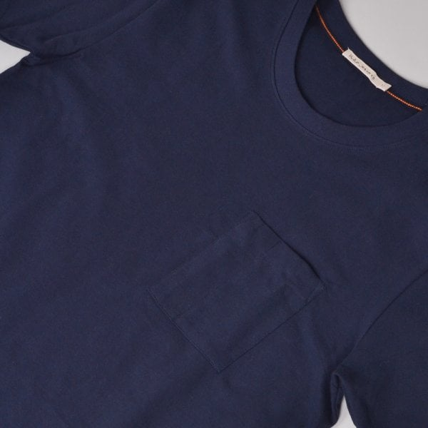 Nudie Jeans Kurt Worker Tee - Navy
