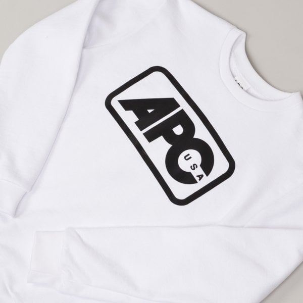 A.P.C. Sweat Vince - White