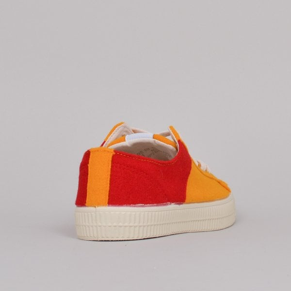 Universal Works x Novesta Star Master 2T Burel Wool - Red/Mustard