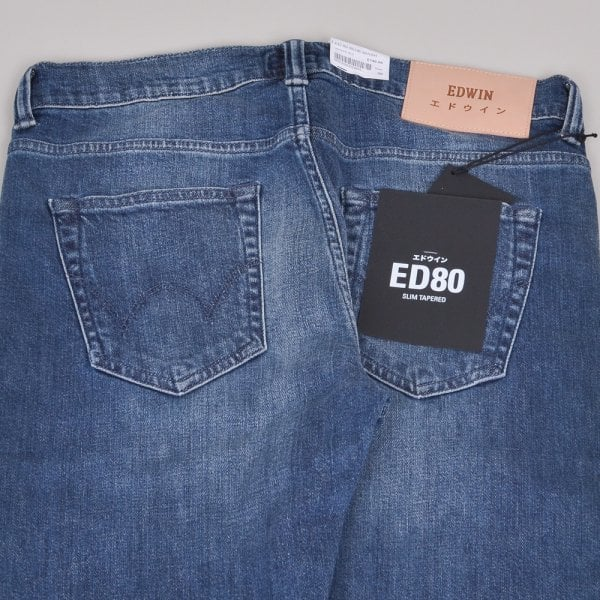 Edwin ED-80 CS White Listed - Blue Mission
