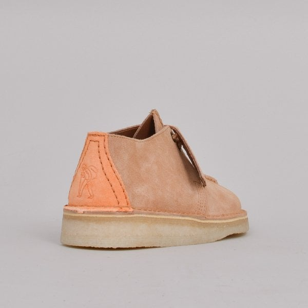 Clarks Originals Ladies Desert Trek - Light Tan