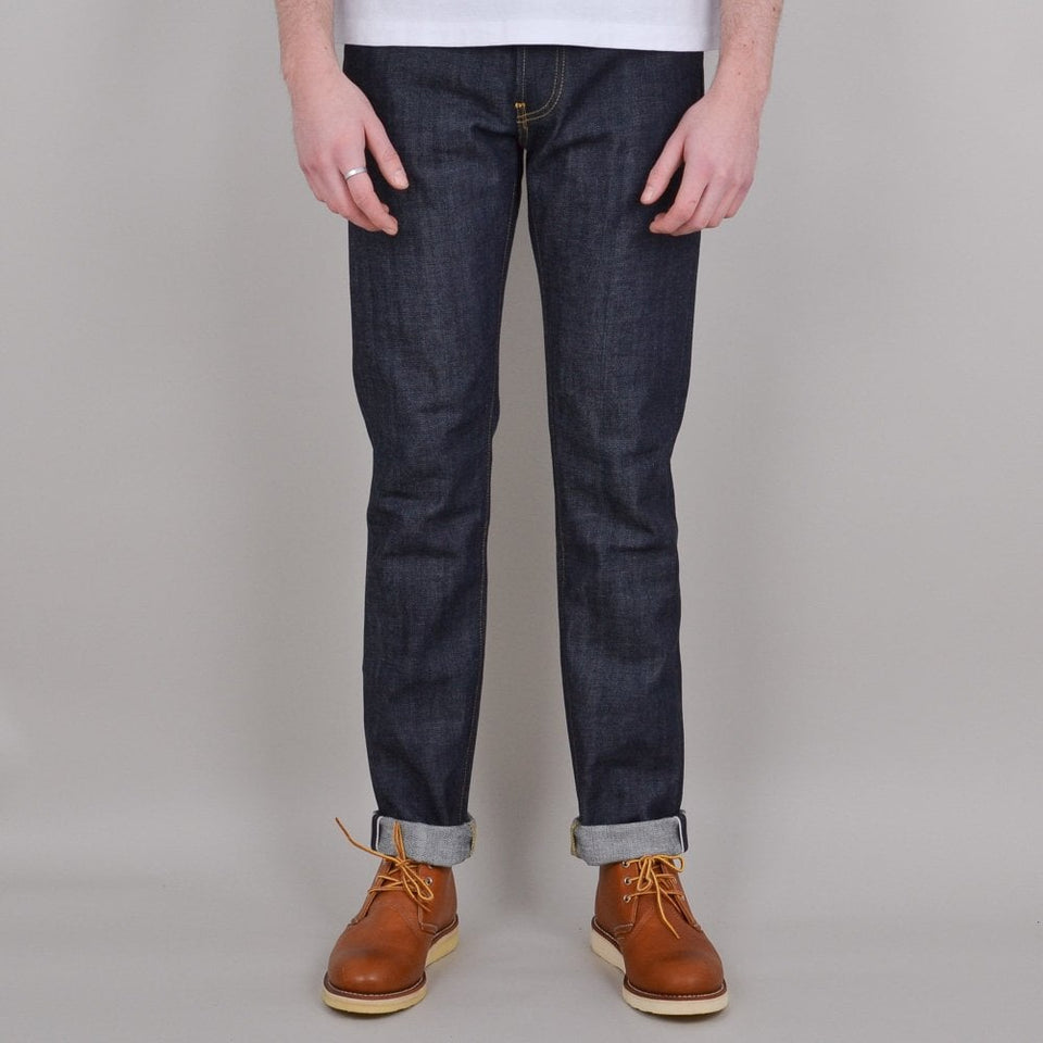 Edwin ED-80 Red Listed Selvedge - Raw Unwashed